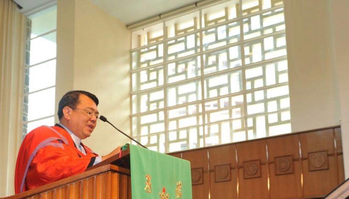 東南亞神學研究院郭漢成副院長於香港中文大學崇基學院神學院證道(何耀基攝)