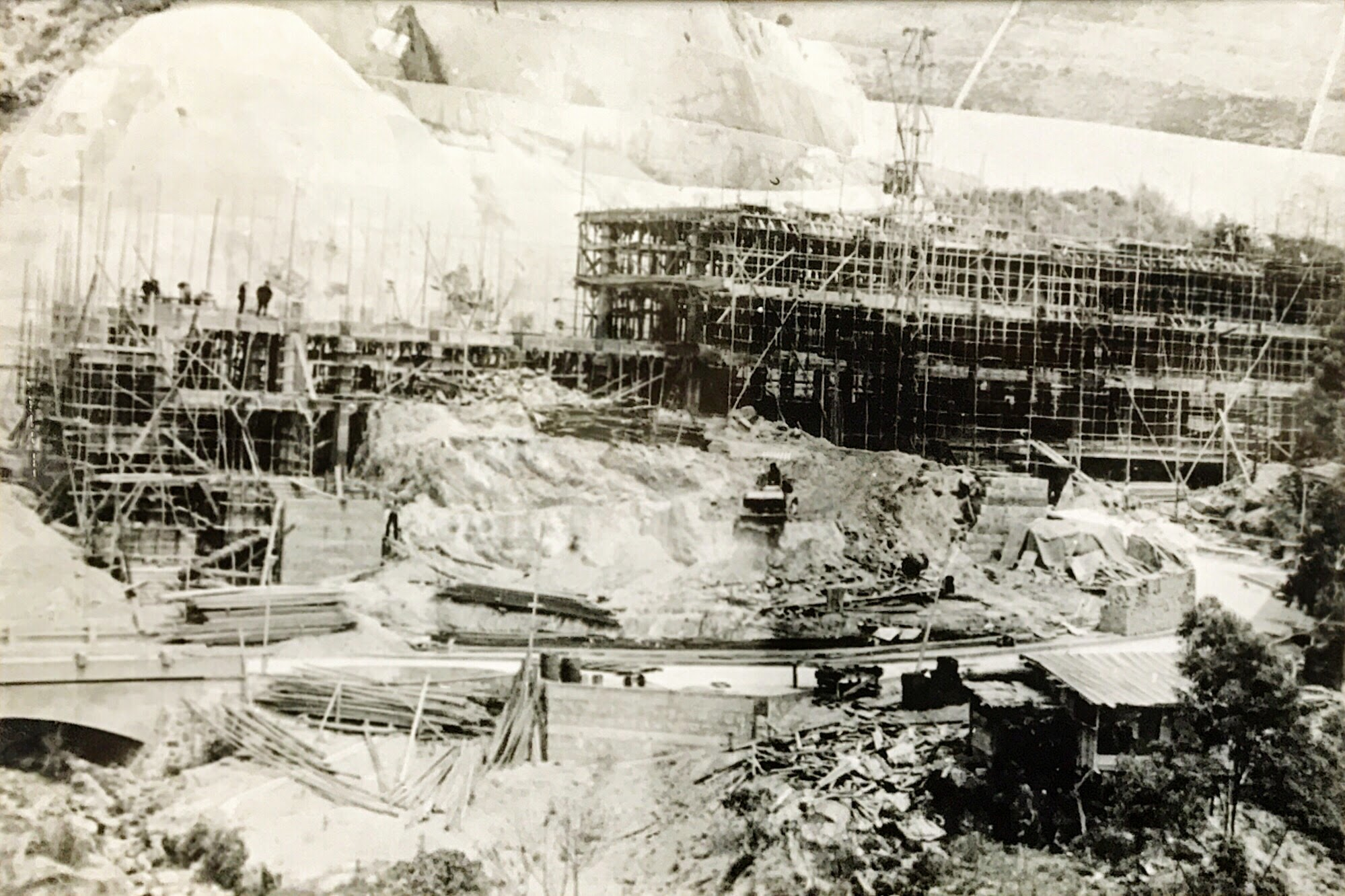 Theology Building under Construction